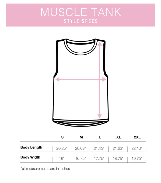 Custom Flowy Scoop Muscle Tank