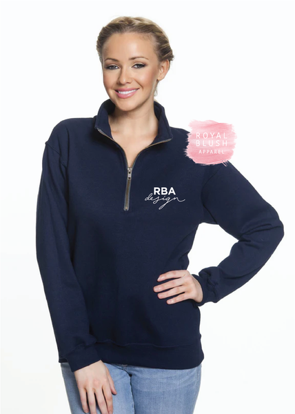 RBA Design Quarter Zip Sweater