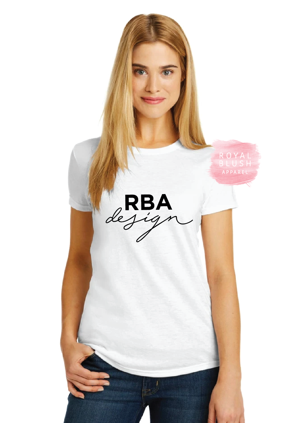 RBA Design Fitted Ladies T-Shirt