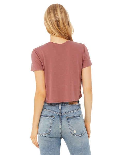 RBA Design Flowy Crop T-Shirt