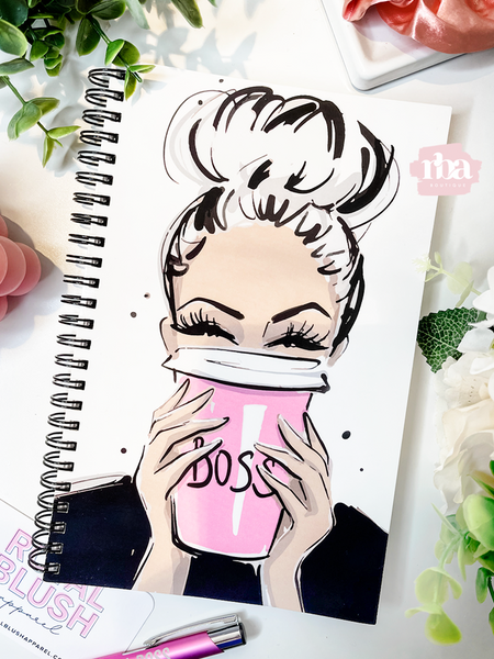 Boss Coffee Notebook