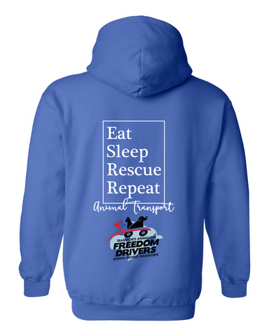 Eat Sleep Rescue Repeat Hoodie