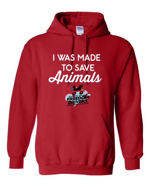 I Was Made To Save Animals Hoodie