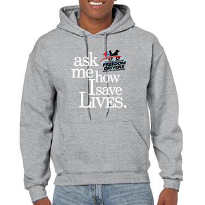 Ask Me How I Save Lives Hoodie