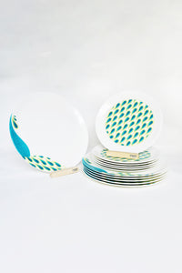 Peacock I Dinnerware - Set of 6
