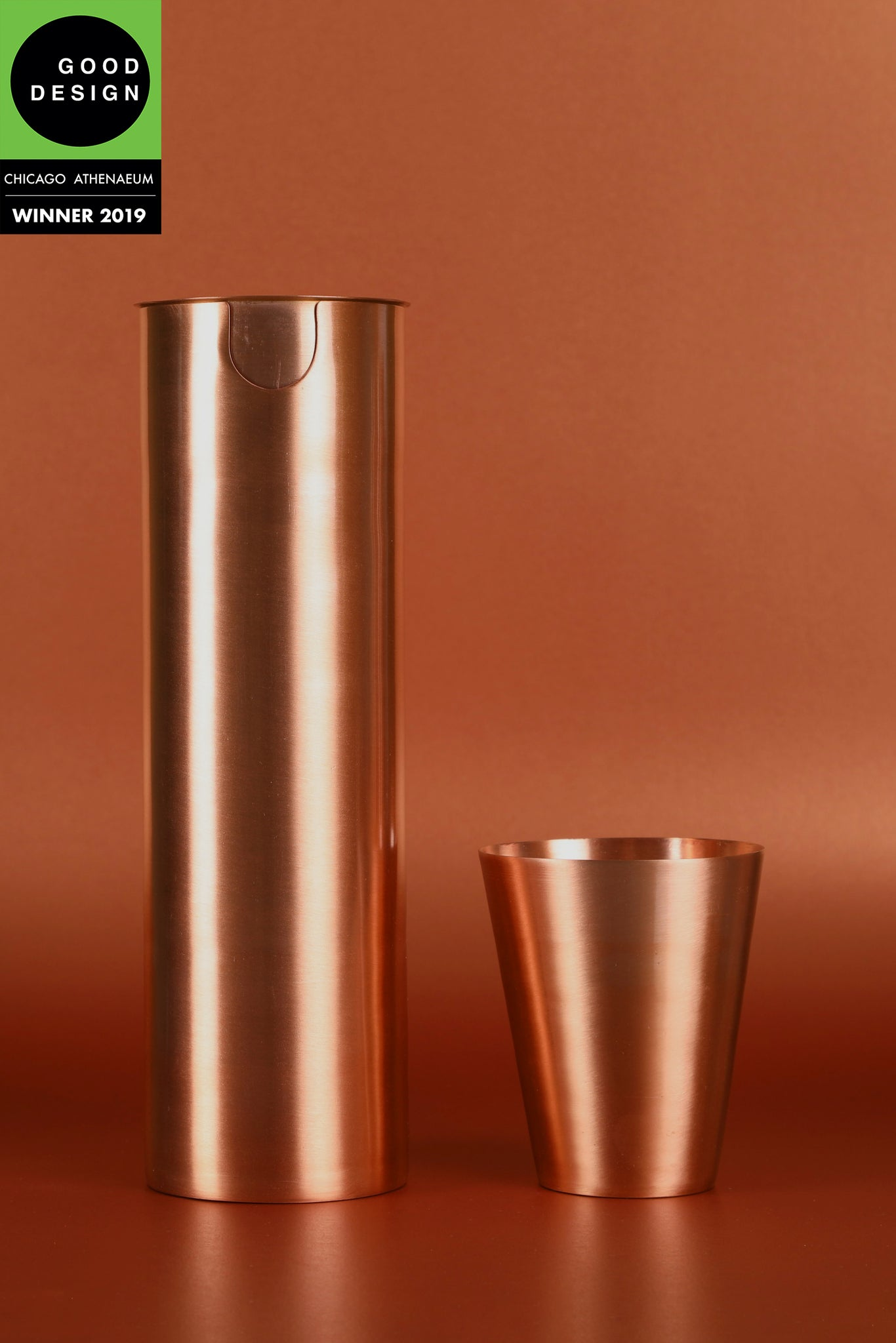 Copper Jug set with Tumbler