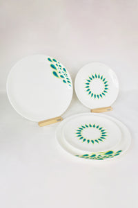Peacock II Dinnerware - Set of 2