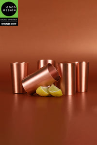 Copper Shot Glass Set