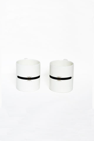 Bidri coffee Mugs Set of 2