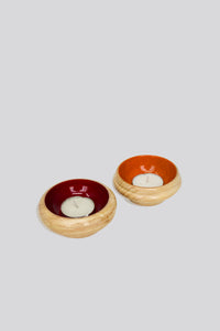 Glow Channapatna Tealight Holders
