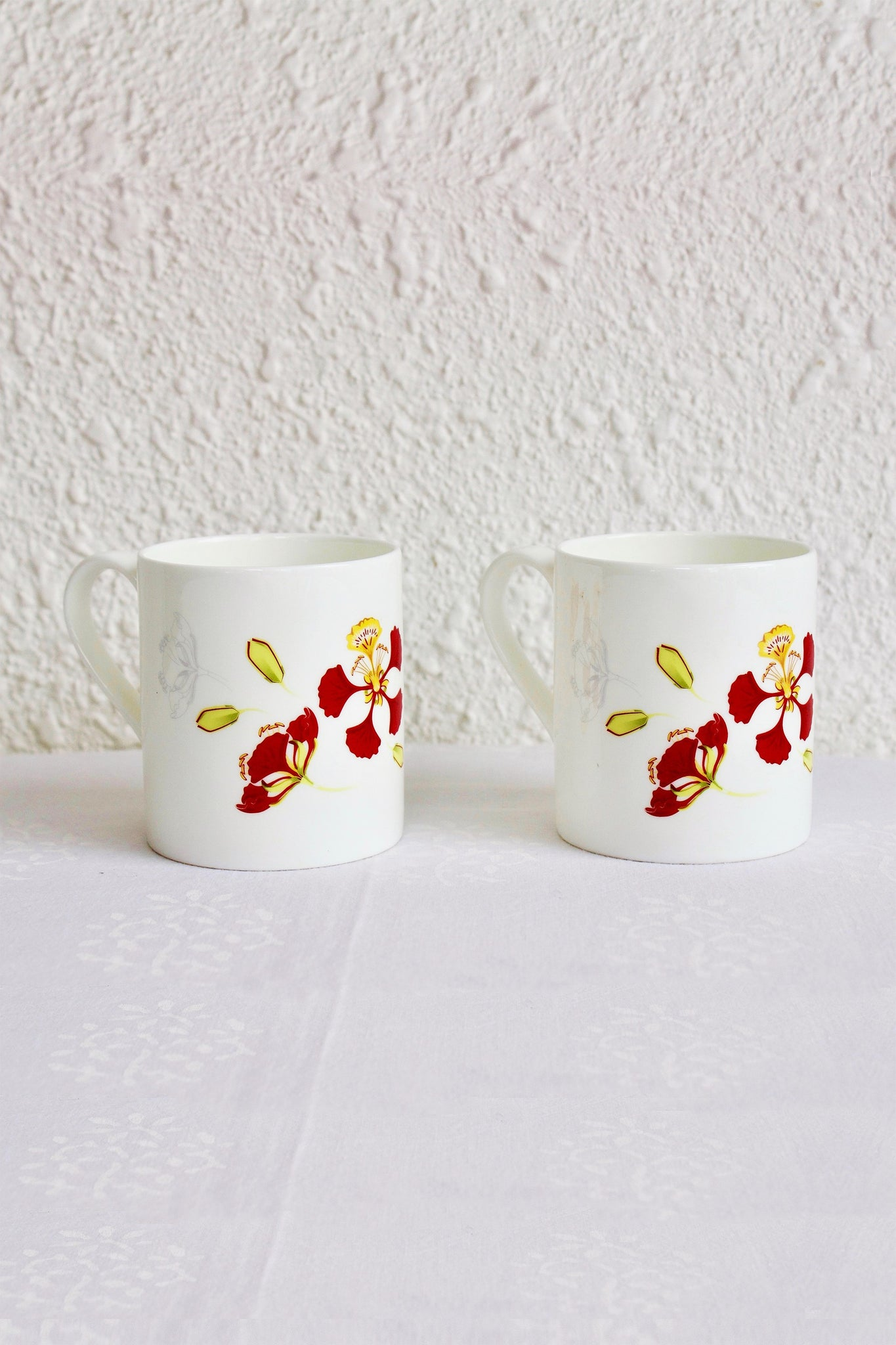 Gulmohar Coffee Mugs - Set of 2