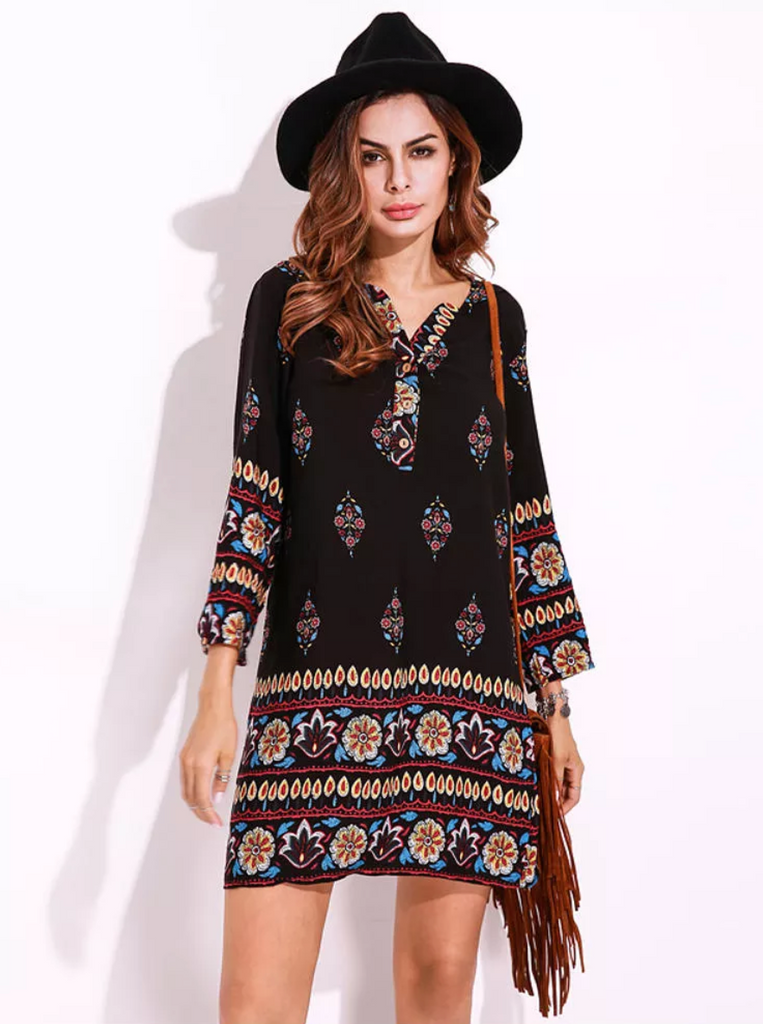 Ashbury Hippie Summer Dress