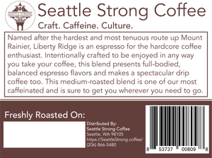 Liberty Ridge 'Espresso' Blend - Medium Roast