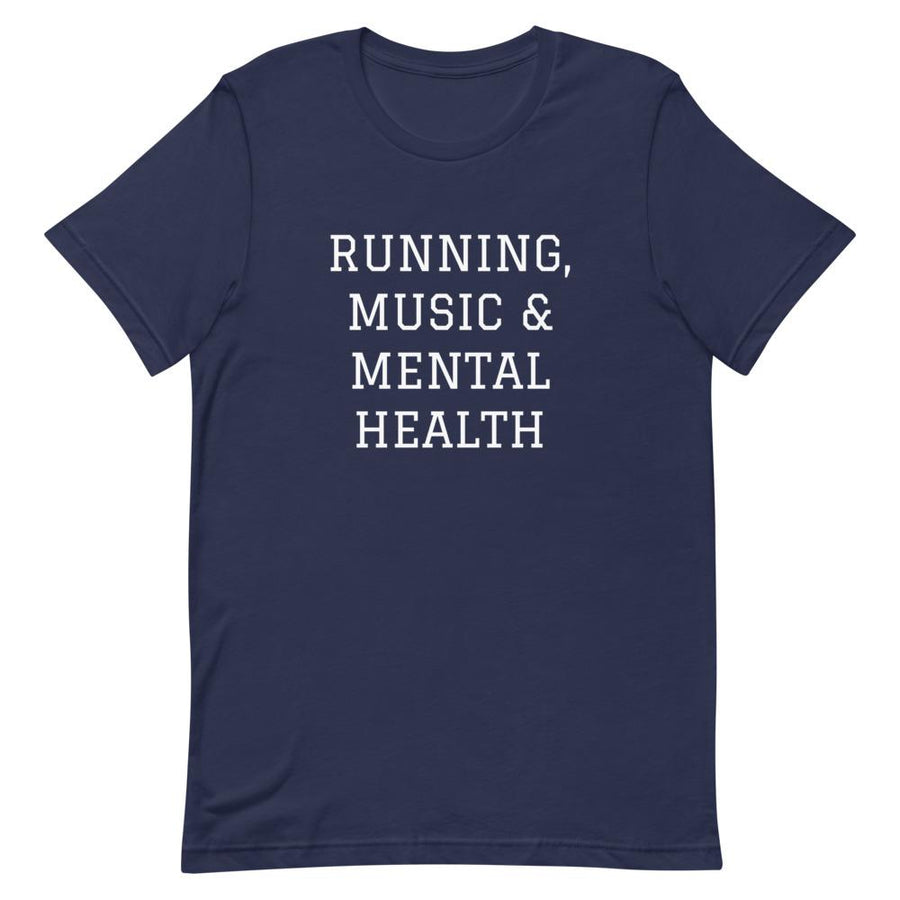 Running, Music & Mental Health T-Shirt