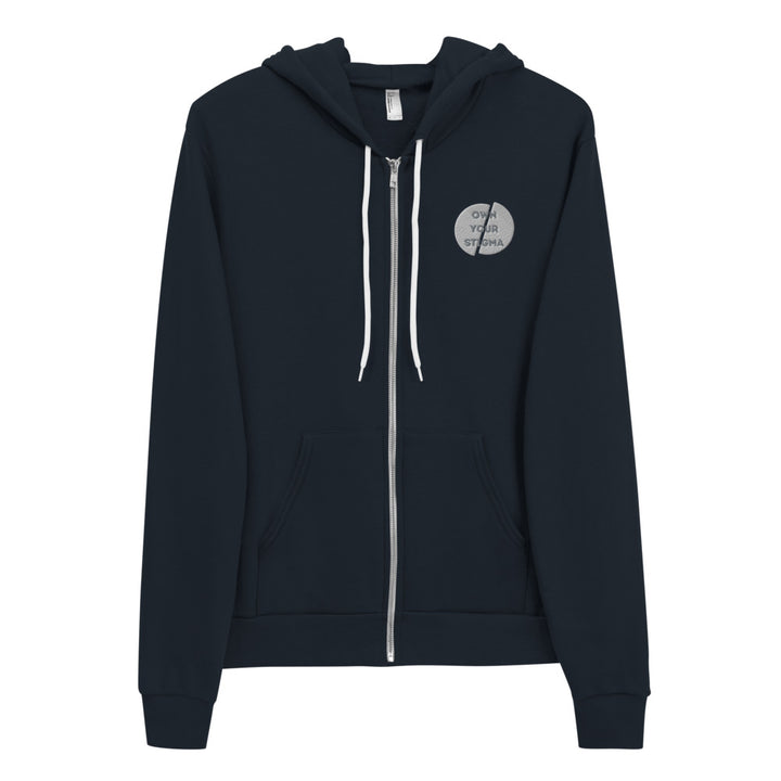 Own Your Stigma Logo Zip Up Hoodie
