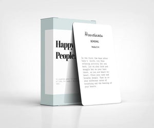 Happy Little People Card Deck - birth to 12mths