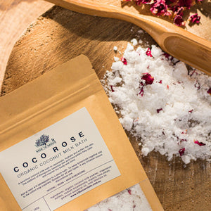 Organic Coco Rose Milk Bath