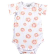 Cotton Bodysuit - Pink Grapefruit