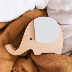 Wooden Musical Elephant