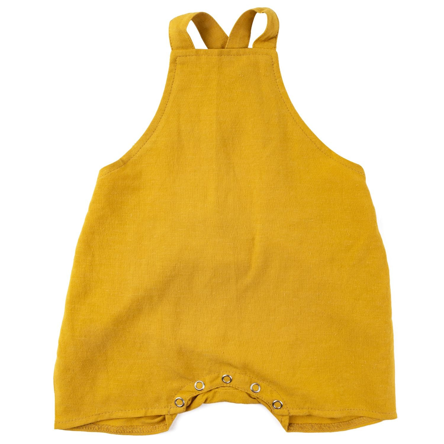 Linen Overalls - Sunflower