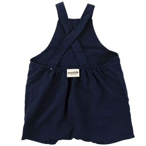 Linen Overalls - French Navy