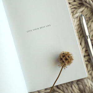 Oprah x Write To Me | Live Your Best Life Journal