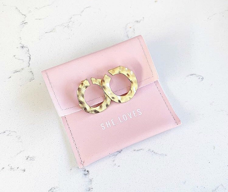 Monique Gold Hoops