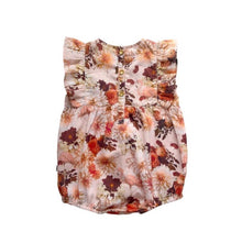 AUGUST ROMPER - DAHLIA THE FLAIMNGO
