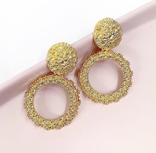 Chloe Rose Gold Earrings