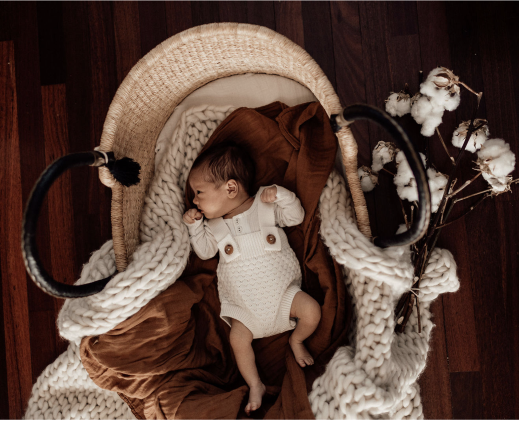 Rust - The Essential Swaddle Range