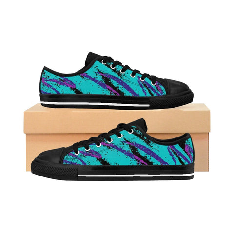"""Dark Jazz"" Women's Sneakers"