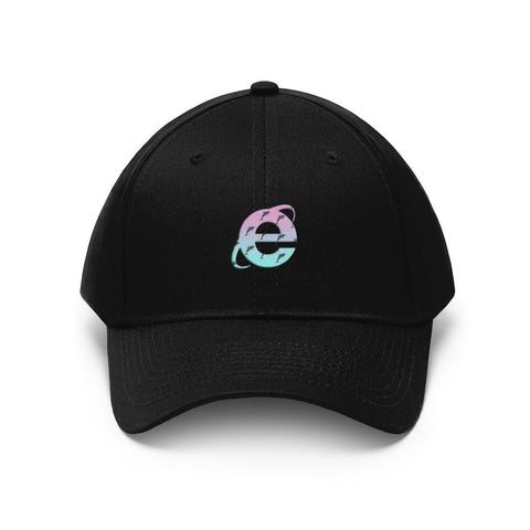 """Dolphin Aesthetic"" Unisex Twill Hat"