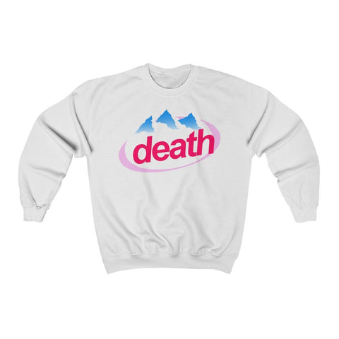 """Death"" Unisex Heavy Blend™ Crewneck Sweatshirt"