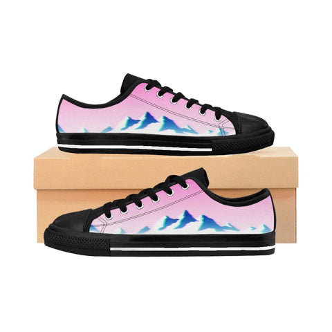 """Hydration Aesthetic"" Women's Sneakers"