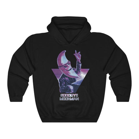 """Goodbye Moonman"" McMoon Unisex Heavy Blend™ Hooded Sweatshirt"