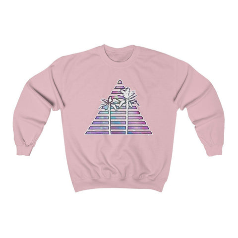Saturn Trilateral Unisex Heavy Blend™ Crewneck Sweatshirt