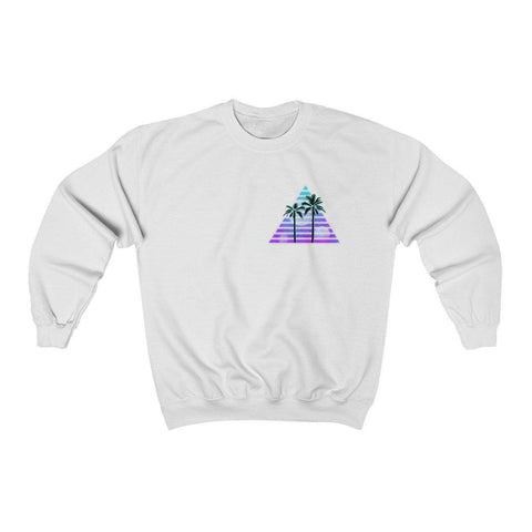 Trilateral Pocket Logo Unisex Heavy Blend™ Crewneck Sweatshirt
