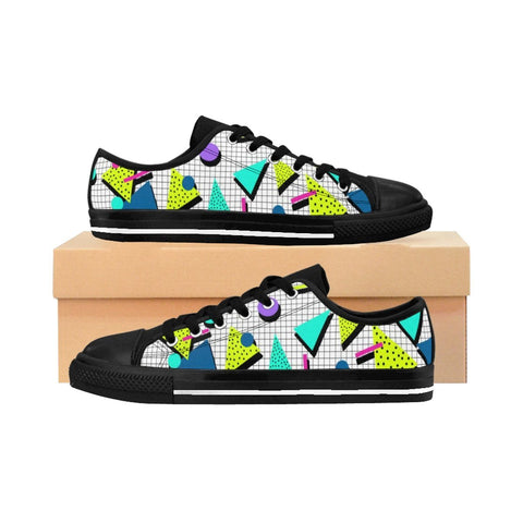 """Jazz Grid"" Women's Sneakers"