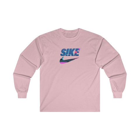 """Sike"" Bloodset Ultra Cotton Long Sleeve Tee"
