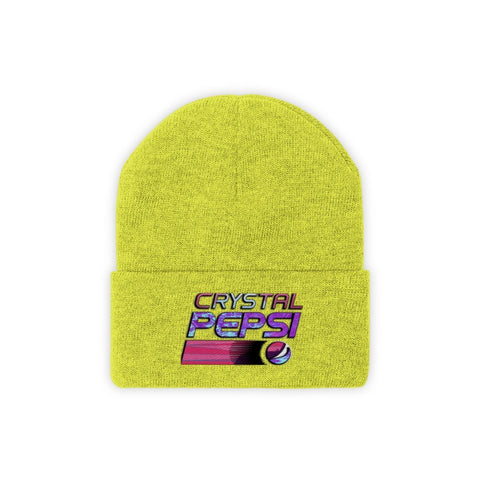 Crystal Pepsi Knit Beanie