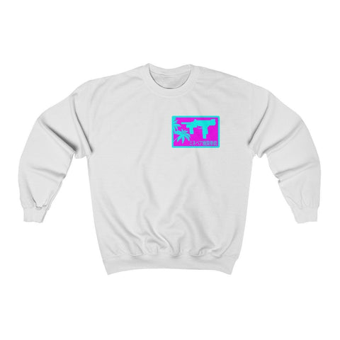 Para Uzi Pocket Logo Unisex Heavy Blend™ Crewneck Sweatshirt