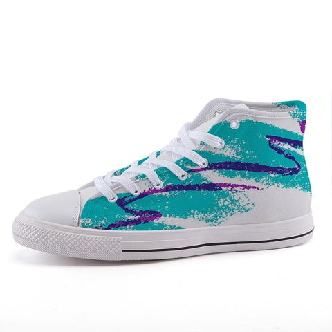 """Pure Jazz"" High-top fashion canvas shoes"
