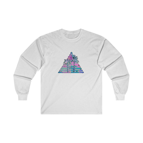 """Miami Substance"" Ultra Cotton Long Sleeve Tee"