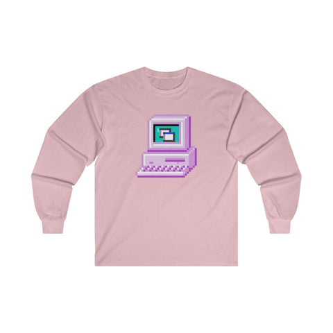 Digital Life Ultra Cotton Long Sleeve Tee