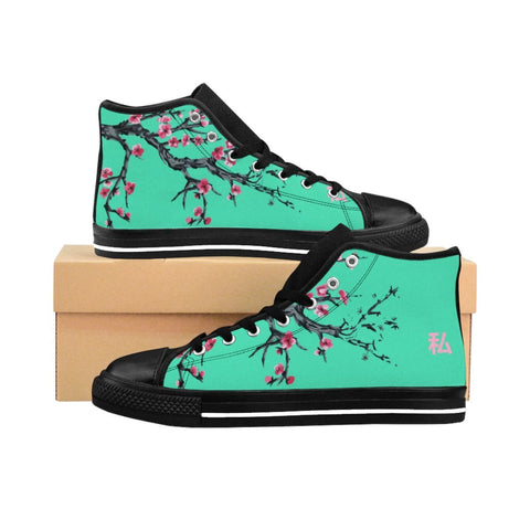 """Bloom Aesthetic"" Women's High-top Sneakers"