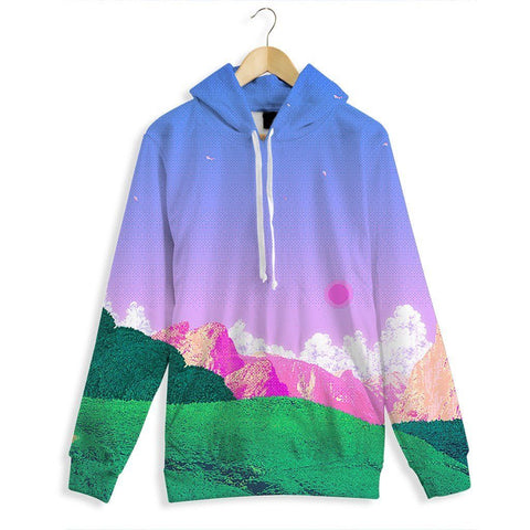 Cherry Scape All Over Print Hoodie
