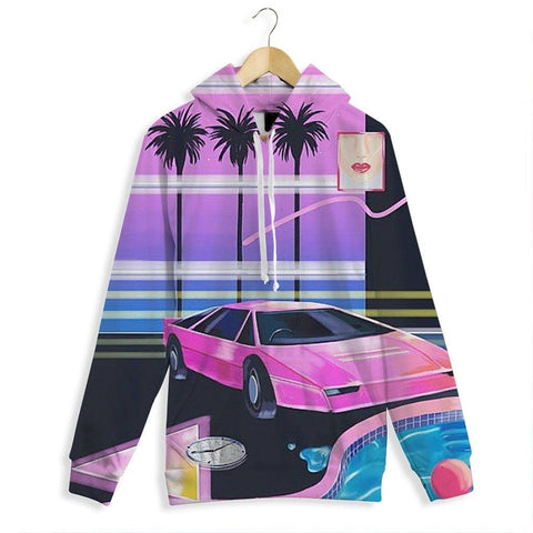 """Vice City Love"" All Over Print Hoodie"