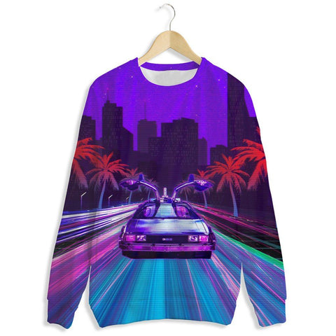 Delorean Rush Crewneck