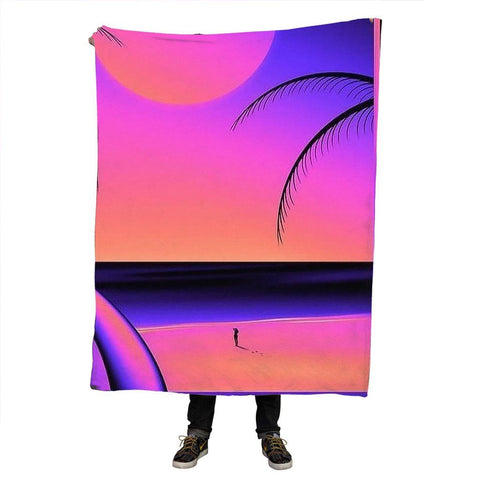 Pure Sunset Blanket