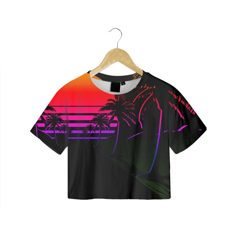 Drive Aesthetic Crop Tee